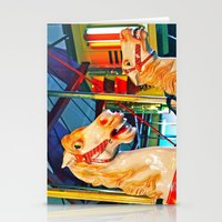 Carousal Racers Stationery Cards