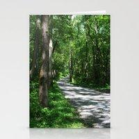 Sunny Path Stationery Cards