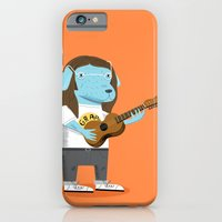 iPhone & iPod Case featuring Lennon Dog and Yoko Bunny by Oliver Lake
