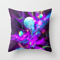 The Magic Of Newborn Inf… Throw Pillow