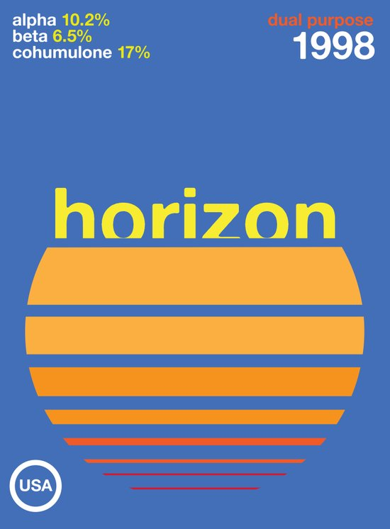 horizon//single hop Canvas Print
