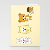 YAMMY ICE CREAM  Stationery Cards