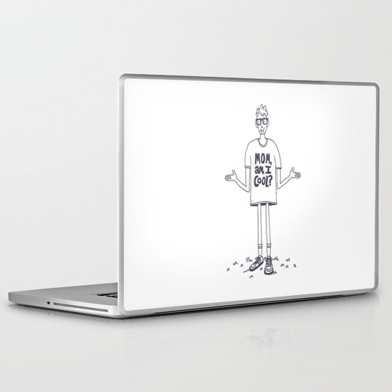Mom, Am I Cool? Laptop & iPad Skin