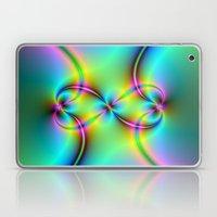 Neon Love Knots Laptop & iPad Skin