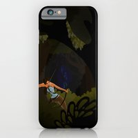 iPhone & iPod Case featuring Tomb Raider by Tella