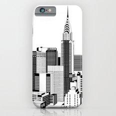 New York Black and White 2 Slim Case iPhone 6s