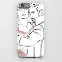 iPhone Cases featuring Undercover Lovers by Christine Ring