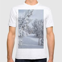 Snow Mens Fitted Tee Ash Grey SMALL