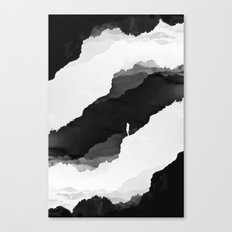 Black Isolation Canvas Print