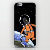 Penguinaut! iPhone & iPod Skin