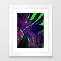 Behind the foliage Framed Art Print