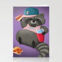 Rad Raccoon Stationery Cards