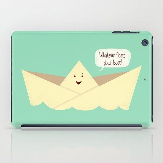 Happy boat iPad Case