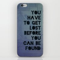 Lost And Found iPhone & iPod Skin