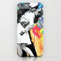 iPhone & iPod Case featuring Kiss - Time Square Kiss by Paola Gonzalez