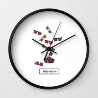 sunglasses ad Wall Clock