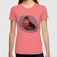 Onita & Melvin Womens Fitted Tee Pomegranate SMALL