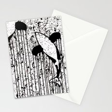 Whales That Swim Together Stationery Cards