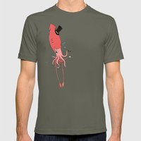 Gentlesquid Mens Fitted Tee Lieutenant SMALL