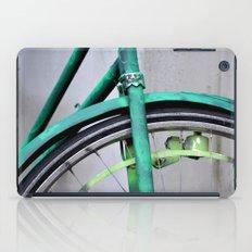 Green bike iPad Case