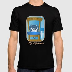 Jackson : The Chairman 2 SMALL Black Mens Fitted Tee
