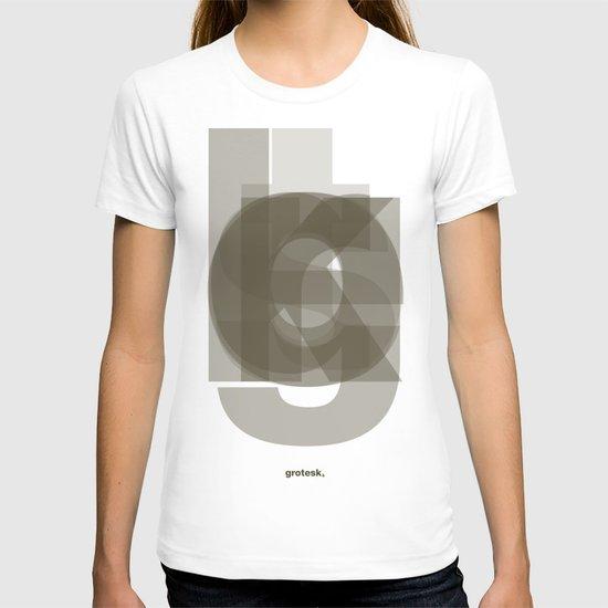 Die Neue Haas Grotesk (A-03) T-shirt