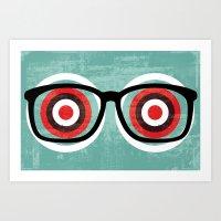 bullseyes Art Print
