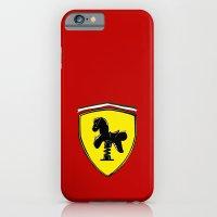 iPhone & iPod Case featuring Ferrari cute by le.duc