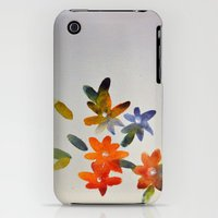 iPhone 3Gs & iPhone 3G Cases featuring Flowers by Fatima khayyat