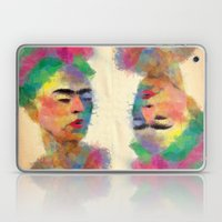 frida kahlo Laptop & iPad Skin