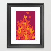Summer Love Framed Art Print