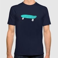 Skate & live Mens Fitted Tee Navy SMALL