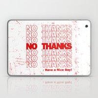 No Thanks Laptop & iPad Skin