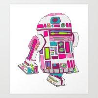 Cool Girls Like Epic Dro… Art Print