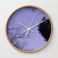 A Starry Night Wall Clock
