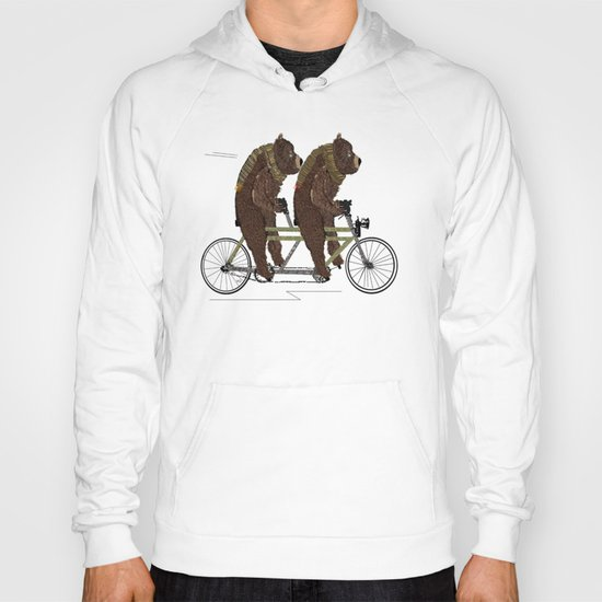 grizzly days lets tandem Hoody