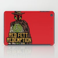 Red Fett Redemption iPad Case