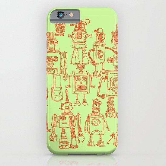 Robots! iPhone & iPod Case