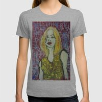 EMMA Womens Fitted Tee Athletic Grey SMALL