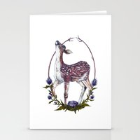 Fawn and Thistle Stationery Cards