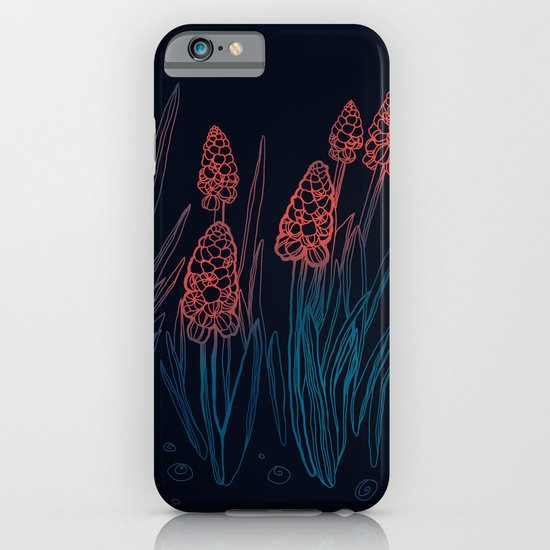 Hyacinths in the night iPhone & iPod Case