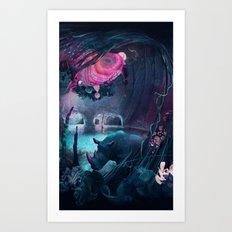 grotto Art Print