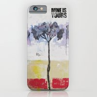 iPhone & iPod Case featuring Hydrangeas by Mine is Yours