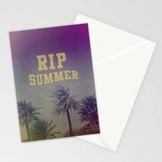 RIP Summer Stationery Cards