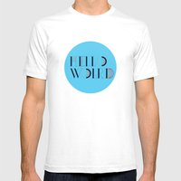 Hello World   Comp Sci S… Mens Fitted Tee White SMALL