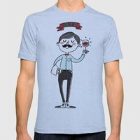Ooh La La - The Wine Is … Mens Fitted Tee Athletic Blue SMALL