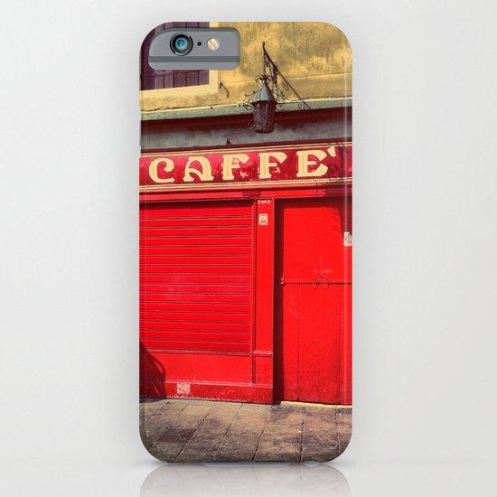 Caffè in Red iPhone & iPod Case