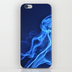 smoky blue iPhone & iPod Skin