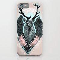 iPhone & iPod Case featuring Wind:::Deer by Süyümbike Güvenç