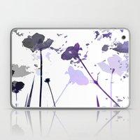 Field of Flowers Indigo Laptop & iPad Skin